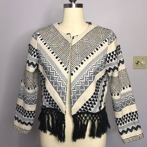 Abercrombie & Fitch Cropped Nordic Jacket
